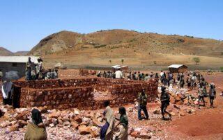 Kleinbauern im Hochland Äthiopiens