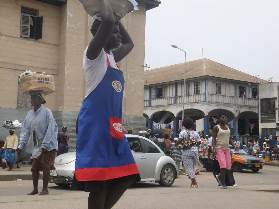Life_is_Balancing!_Accra,_Ghana_-_Photograph_by_Linda_Fletcher_Dabo